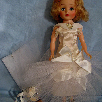 """American Character dolls 10 1/2"""" Toni and Betsy McCall"""