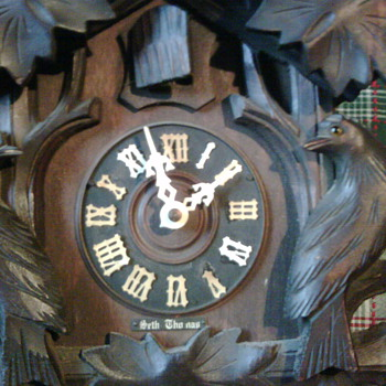 Seth Thomas clock from the late 1800's or early 1900's - Clocks
