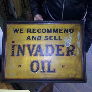 Invader Oil - Advertising