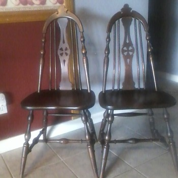 S.K Pierce and son chairs from the past... - Furniture