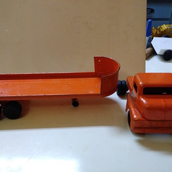 Structo truck and trailer - Model Cars