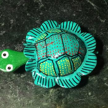 Bobble-head turtle from Huatulco, Oaxaca, Mexico - Animals