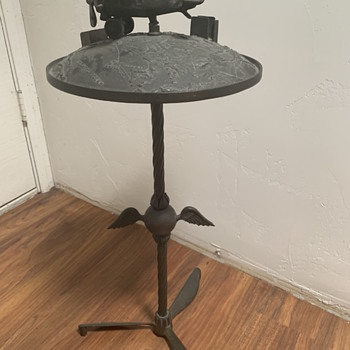 Aviation ash tray stand - Advertising