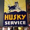Husky service gas station