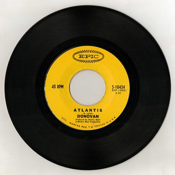 "45rpm ""Oldies"" - Donovan - Records"