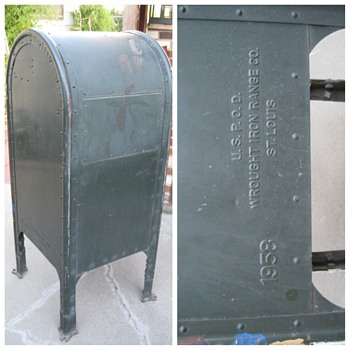 1958 Collection Mail Box