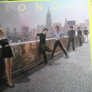 "Blondie  ""AutoAmerican "" - Records"