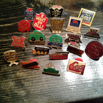 Cool enamel pin collection AGB - Medals Pins and Badges