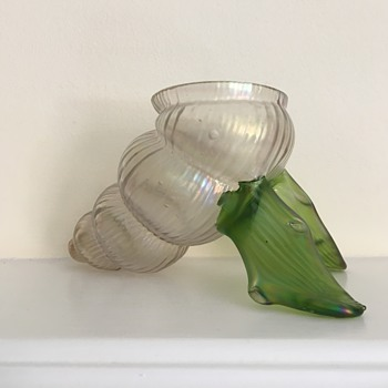 Kralik soie de verre shell - Art Glass