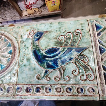 Tile Painting - Pottery