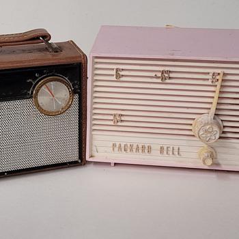 1959 Packard Bell & 1960s Sears Silvertone Radios - Radios