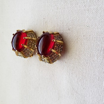 KJL Kenneth Jay Lane Clip Earrings - Costume Jewelry