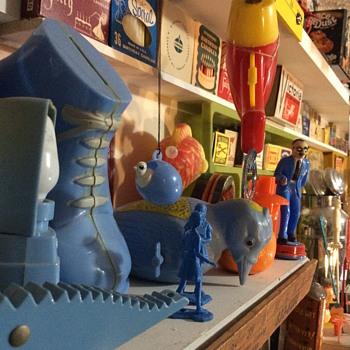 Blue plastic is my blue velvet  - Toys