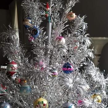 Vintage Christmas tree  - Christmas