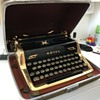 Ian Fleming Gold Typewriter - Excellent Condition