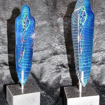 Bertil Vallien 'Mummy'  - Art Glass