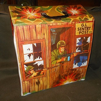 Ideal GI Sentry Post Circa 1967 Made For GI Joe Unofficially - Toys