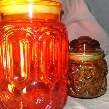 Glass Canisters - Art Glass