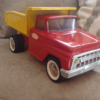 Kevin's 1960s Tonka Dump Truck Suvivor! - Model Cars