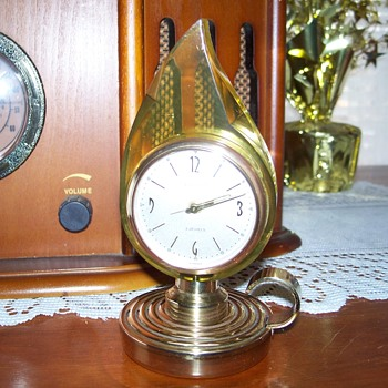 Europa Candle Style Clock - Clocks