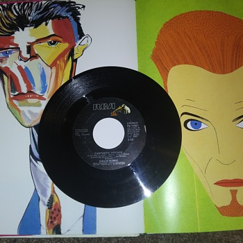 Mr. David Bowie...On 45 RPM Vinyl - Music Memorabilia