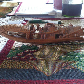 wood carving - Native American