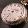Ingraham New York to Paris Lindbergh pocket Watch