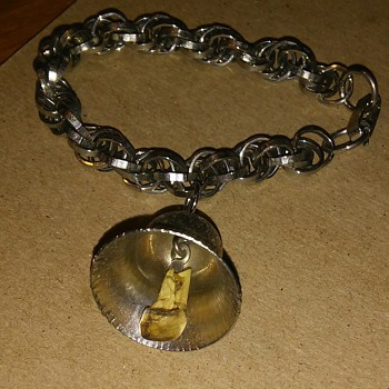 bracelet with a bell  - Costume Jewelry