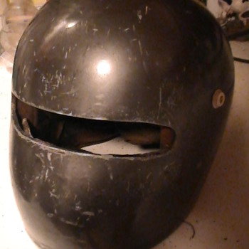 Drag helmet ??? 60's ? 70's ?