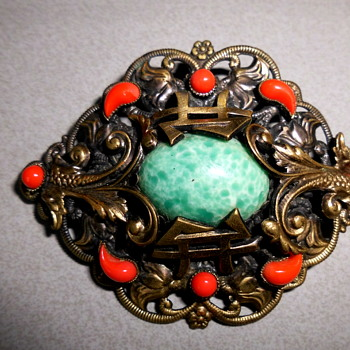Neiger or Neiger-like brooch - Art Deco