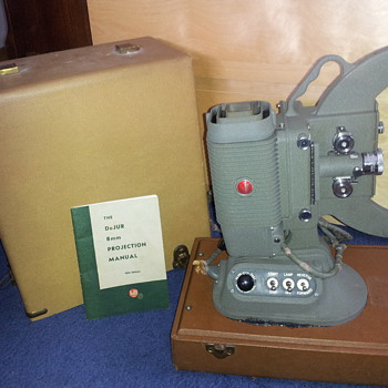 DeJUR U.S.A. model 750 8mm Home Movie Projector
