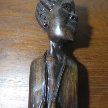 Amon Chiklimbirike Ebony wood? African Statue