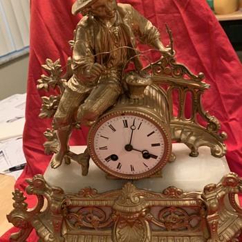 Thrift Shop Find # 2 Antique Clock - Clocks
