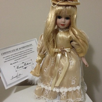 Century collection genuine porcelain doll - Dolls