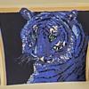 Silkscreen Tiger Art