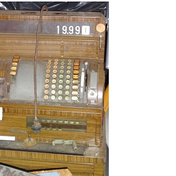 vintage  NCR cash register - Coin Operated