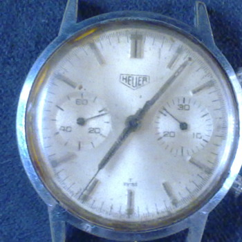 HEUER CHRONOGRAPH CIRCA 1946 - Wristwatches