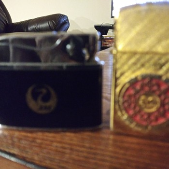 Two Vintage Lighters - Tobacciana
