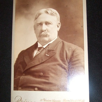 General William Shafter cabinet card - Photographs