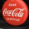 """1941-1962 Coca-Cola 24"""" porcelain button"""