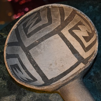 Ceremonial Dipper of the Anasazi Culture - Native American