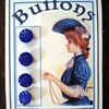 Antique Bohemian Buttons on My Cards
