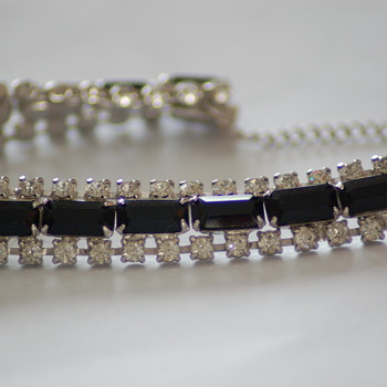 Kramer of N.Y. tennis bracelet - Costume Jewelry