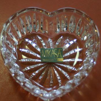 I love crystal of any kind. - Glassware