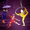 Judie Bomberger Cirque du soleil metal ornaments