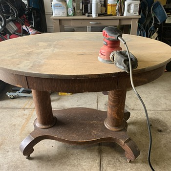 1930's library table - Furniture