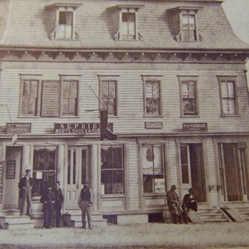 Feltonville Mass Street scene from the Civil War - Photographs