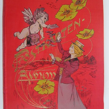 1900 Postcard Album - Postcards