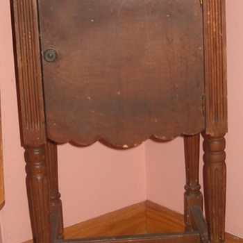 Antique Tobacco Stand