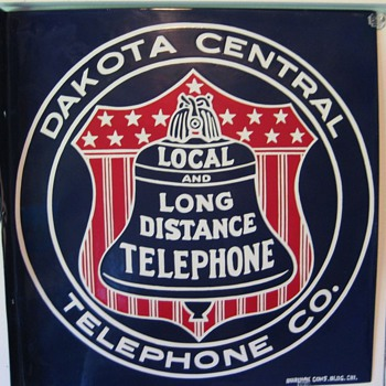 Dakota Central sign